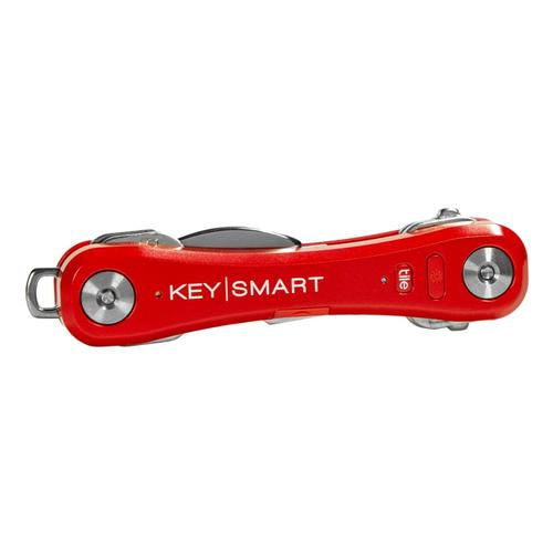 KeySmart Pro with Tile Smart Location Tracking Red
