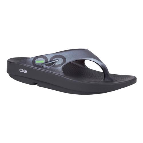 OOFOS Women's OOriginal Sport Sandals Blk.Graph