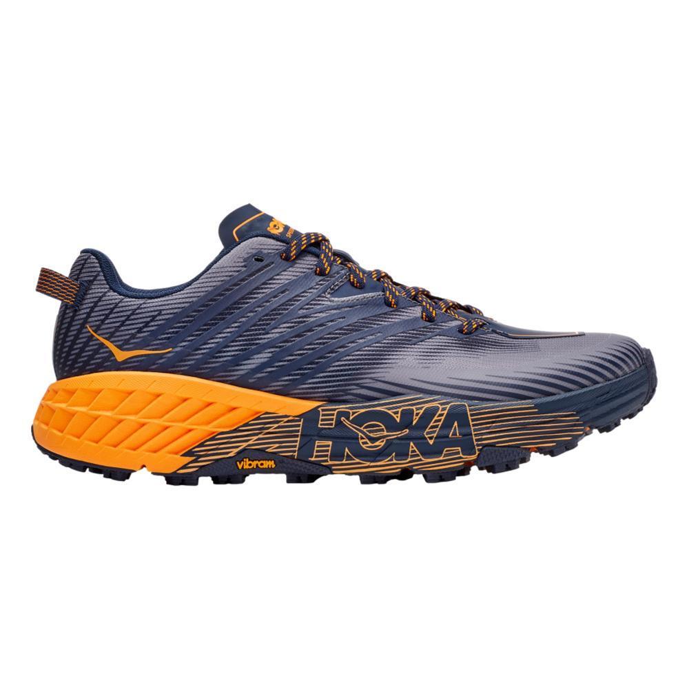 HOKA ONE ONE Men's Speedgoat 4 Trail Running Shoes BKIRS.BMGD_BIBM