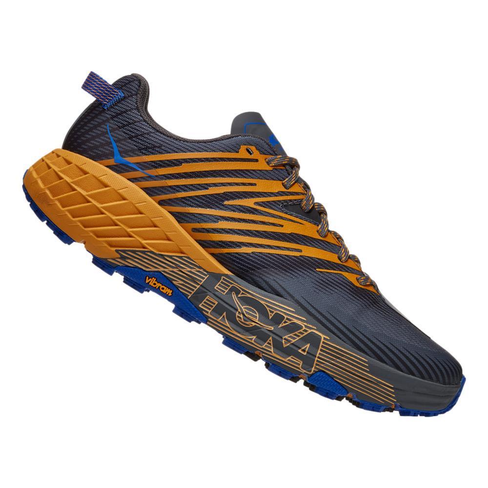 HOKA ONE ONE Men's Speedgoat 4 Trail Running Shoes CASRK.GYEL_CGYW