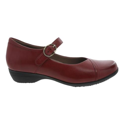 Dansko Women's Fawna Mary Jane Shoes Redburn.Clf