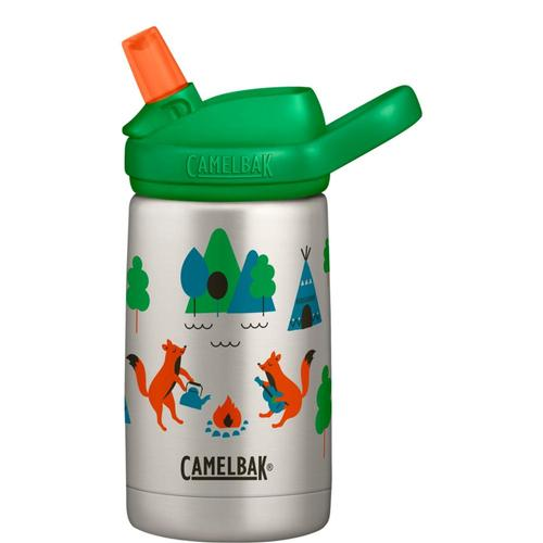 CamelBak Kids Eddy+ 12oz Stainless Steel Insulated Bottle Campfox