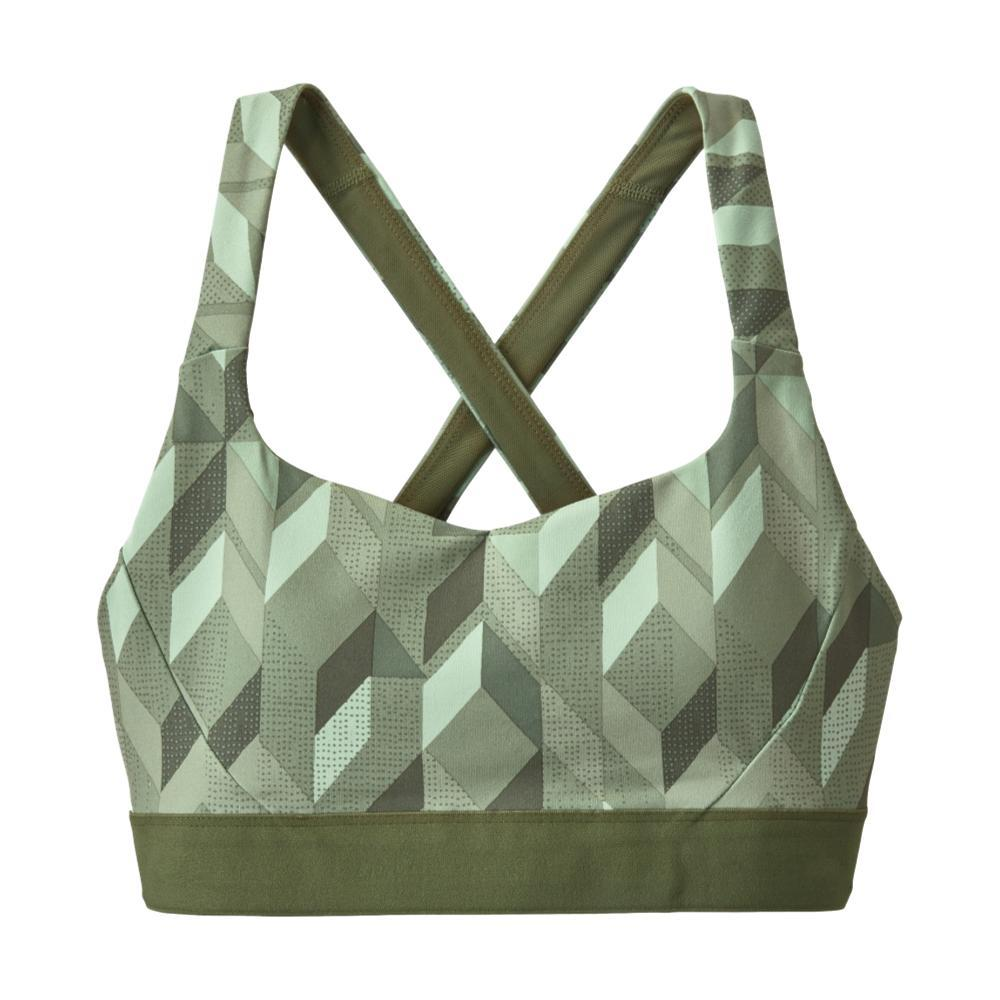 Patagonia Women's Switchback Sports Bra GREEN_FQGE