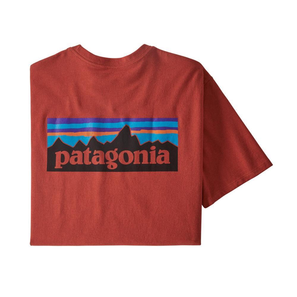 Patagonia Men's P-6 Logo Responsibili-Tee HOTEMB_HTE