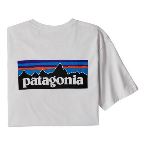 Patagonia Men's P-6 Logo Responsibili-Tee White_whi