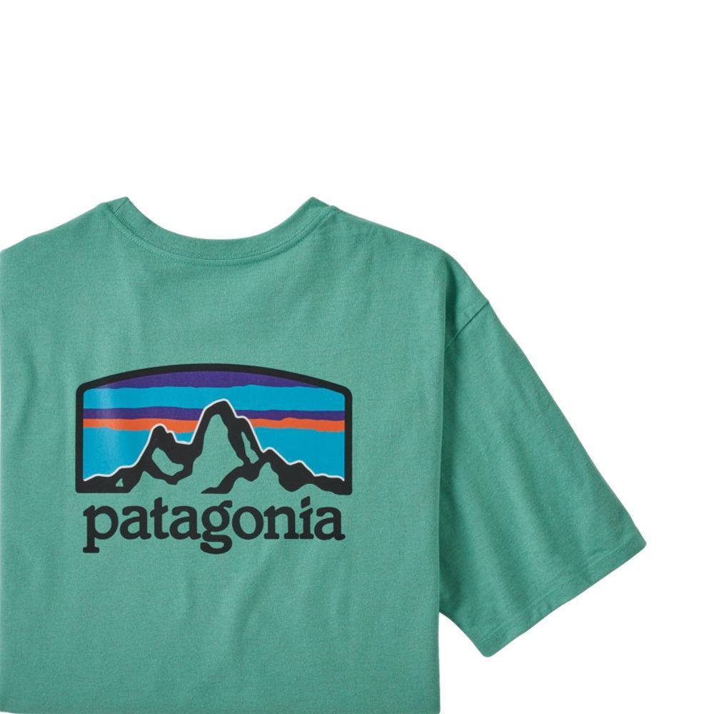 Patagonia Men's Fitz Roy Horizons Responsibili-Tee Shirt GREEN_LBYG