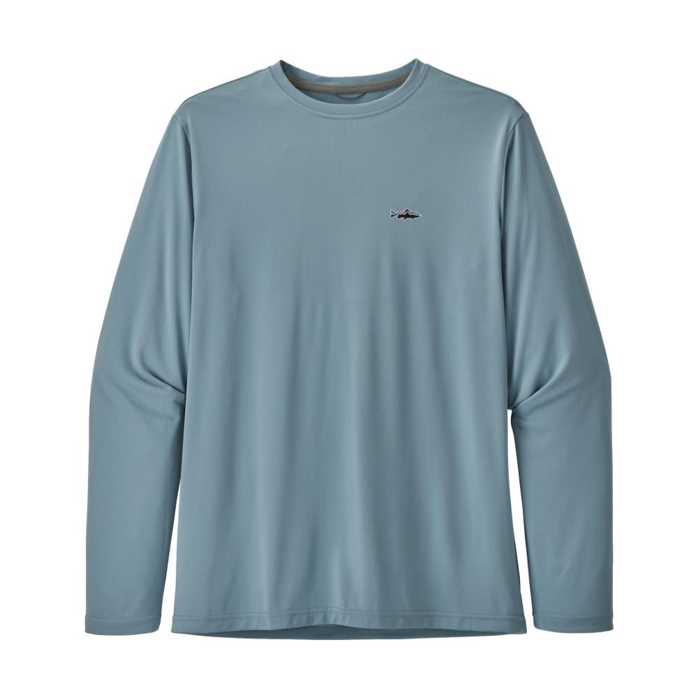 Patagonia Men's Long-Sleeved Capilene Cool Daily Fish Graphic Shirt BBLUE_SRBE