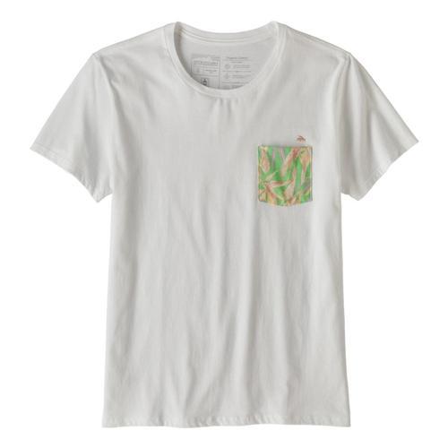 Patagonia Women's Flying Fish Organic Cotton Pocket T-Shirt White_wetn