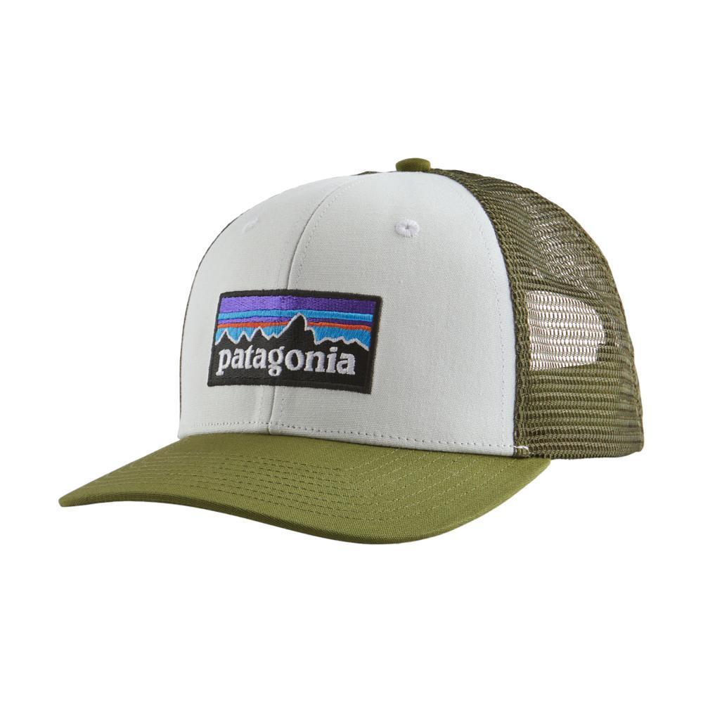 Patagonia P-6 Logo Trucker Hat GREEN_WPAL