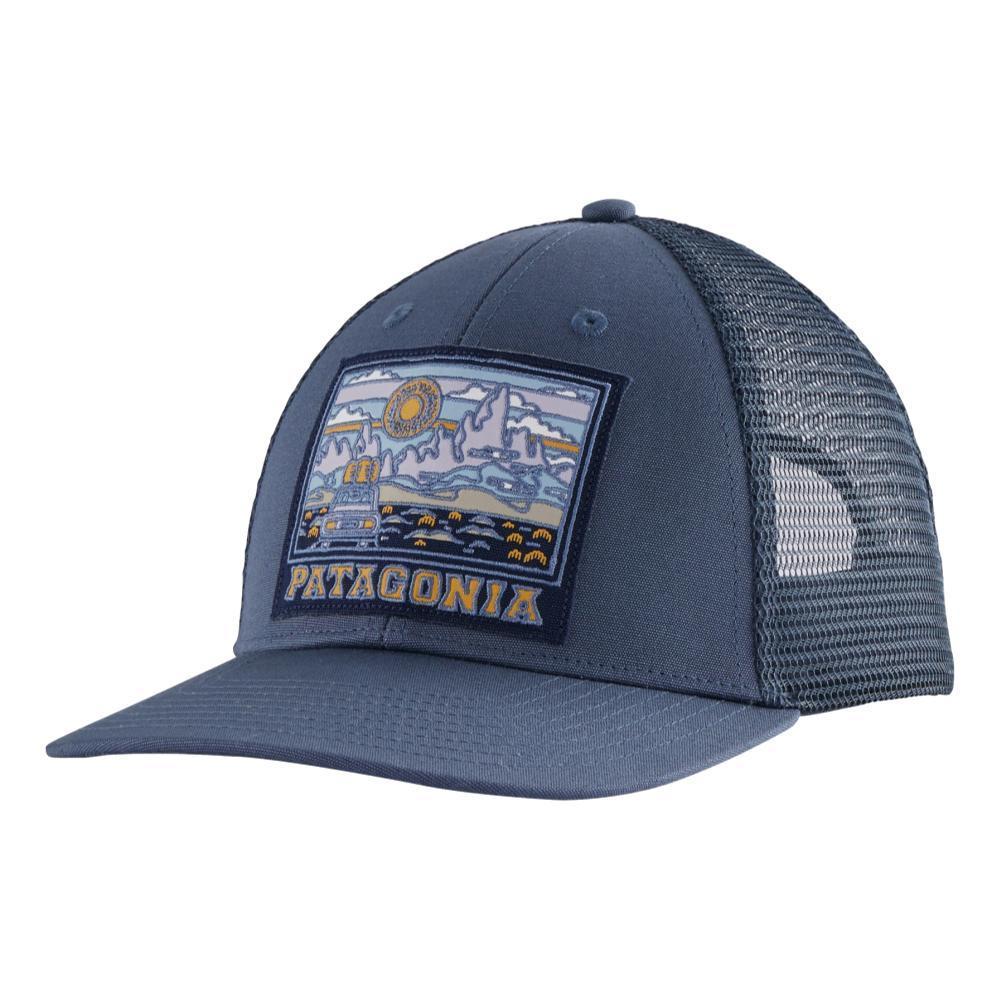 Patagonia Summit Road LoPro Trucker Hat DBLUE_DLMB