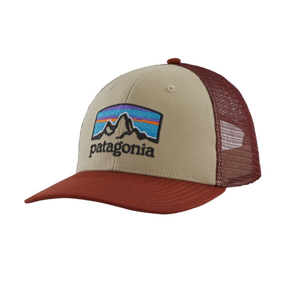 Patagonia Fitz Roy Horizons Trucker Hat KHAKI_ELKH
