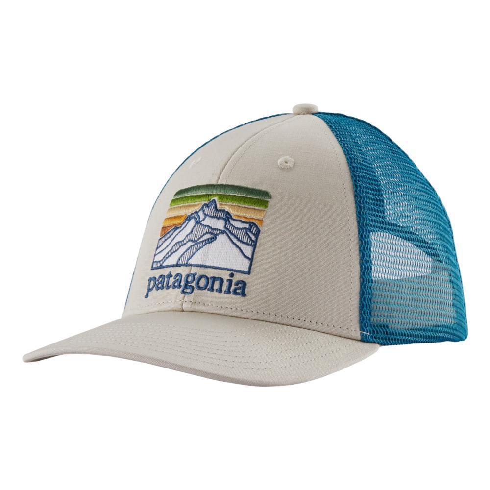 Patagonia Line Logo Ridge LoPro Trucker Hat PUMICE_PUM