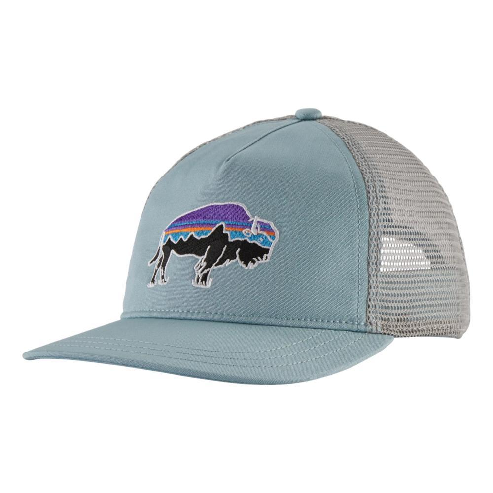 Patagonia Women's Fitz Roy Bison Layback Trucker Hat SBLUE_BSBL