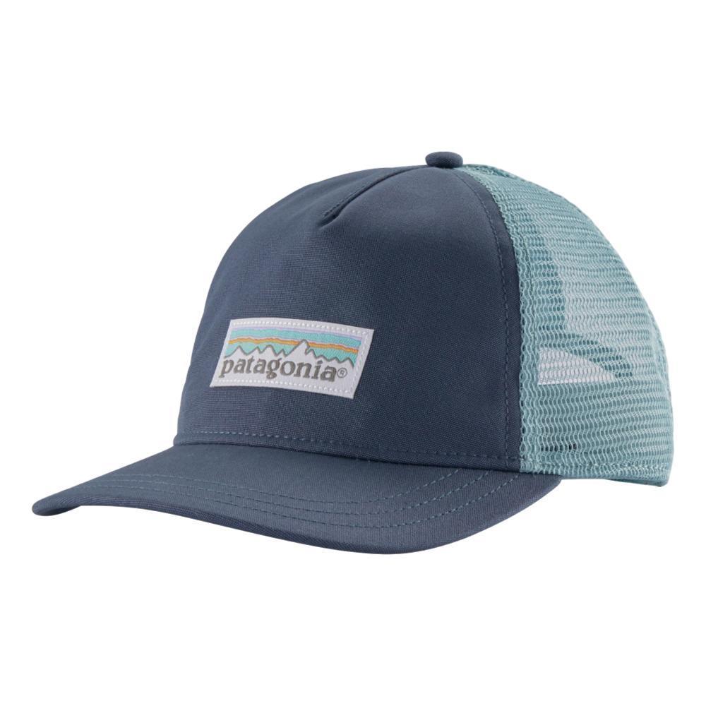 Patagonia Women's Pastel P-6 Label Layback Trucker Hat DBLUE_DLMB