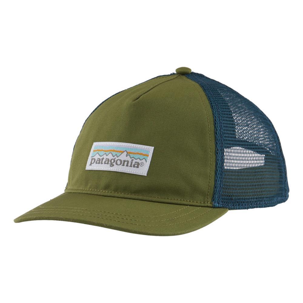 Patagonia Women's Pastel P-6 Label Layback Trucker Hat GREEN_PALG