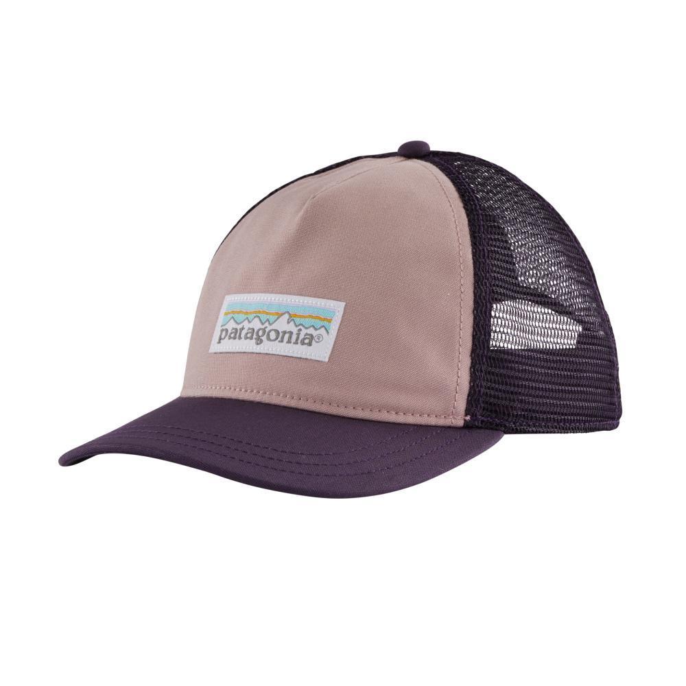 Patagonia Women's Pastel P-6 Label Layback Trucker Hat PURPL_HAZP