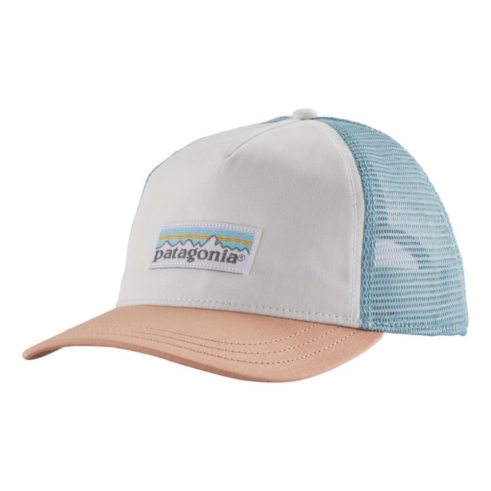 Patagonia Women's Pastel P-6 Label Layback Trucker Hat WHITE_WHI