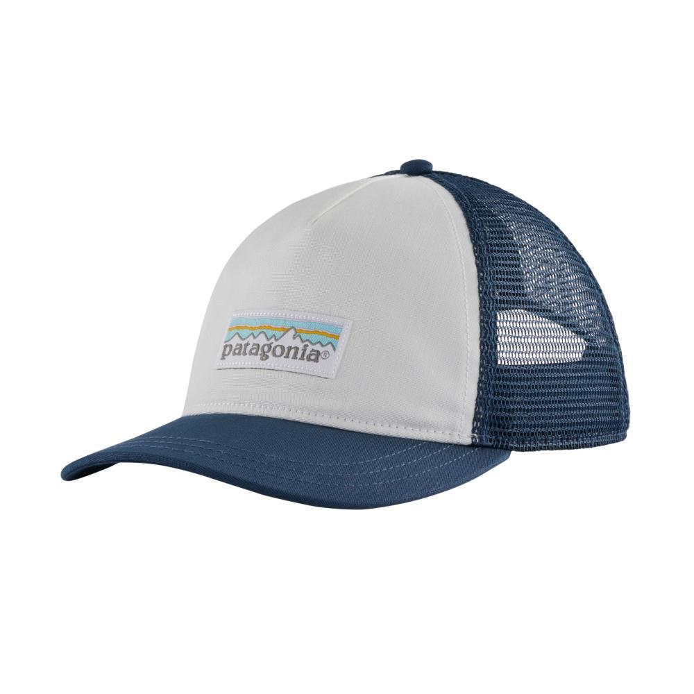 Patagonia Women's Pastel P-6 Label Layback Trucker Hat WHITE_WHST