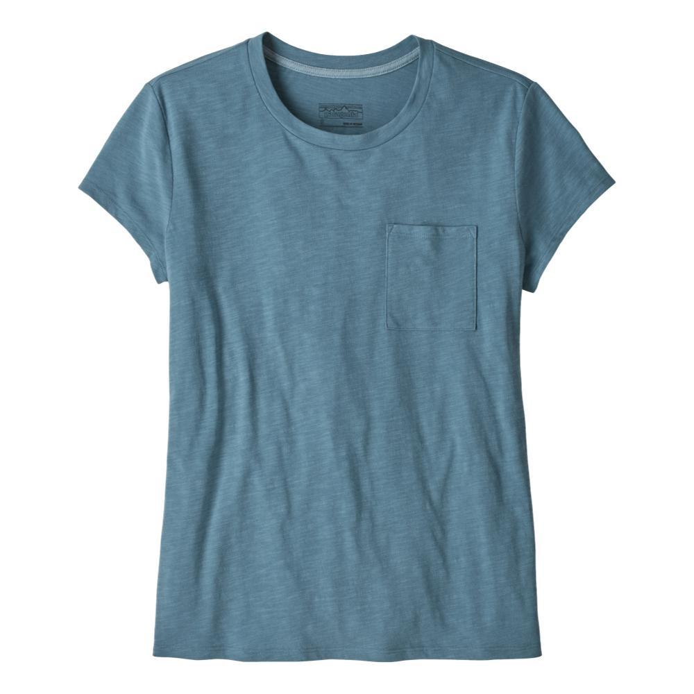 Patagonia Women's Mainstay Tee BLUE_PGBE
