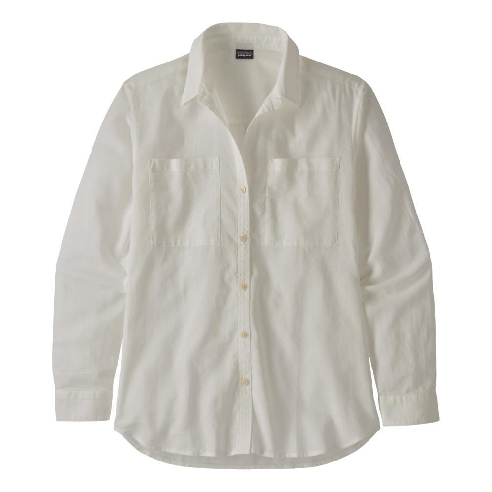 Patagonia Women's Lightweight A/C Buttondown Shirt WHITE_WHI