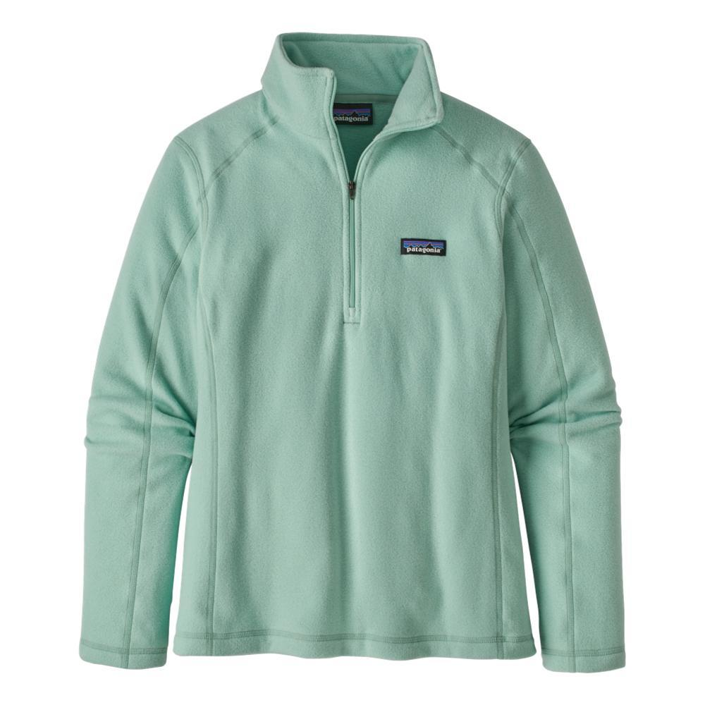 Patagonia Women's Micro D 1/4-Zip Fleece GREEN_GYPG
