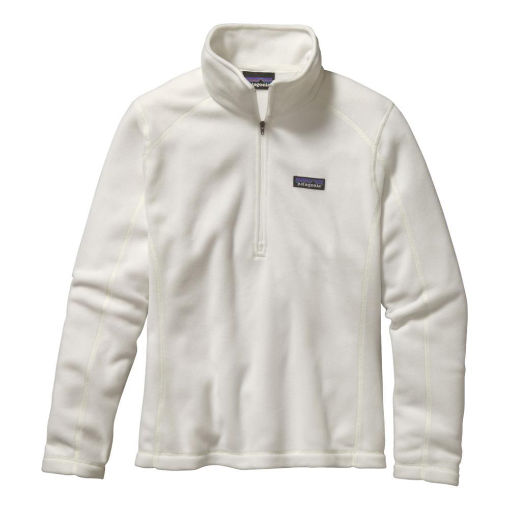 Patagonia Women's Micro D 1/4-Zip Fleece WHITE_BCW