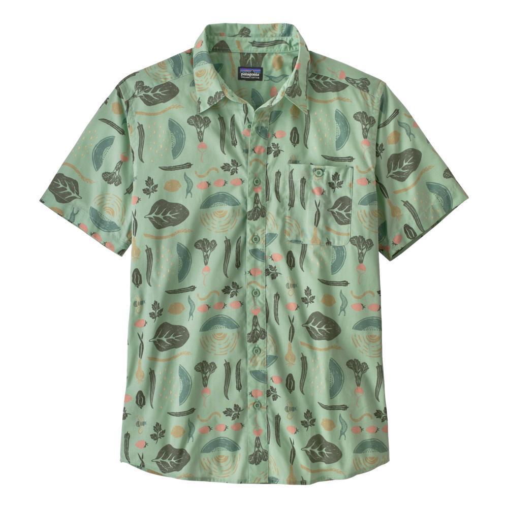 Patagonia Men's Go To Shirt GREEN_SGYG