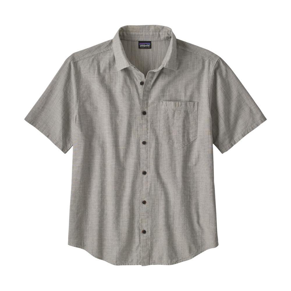 Patagonia Men's Organic Cotton Slub Poplin Shirt GREY_ENFE