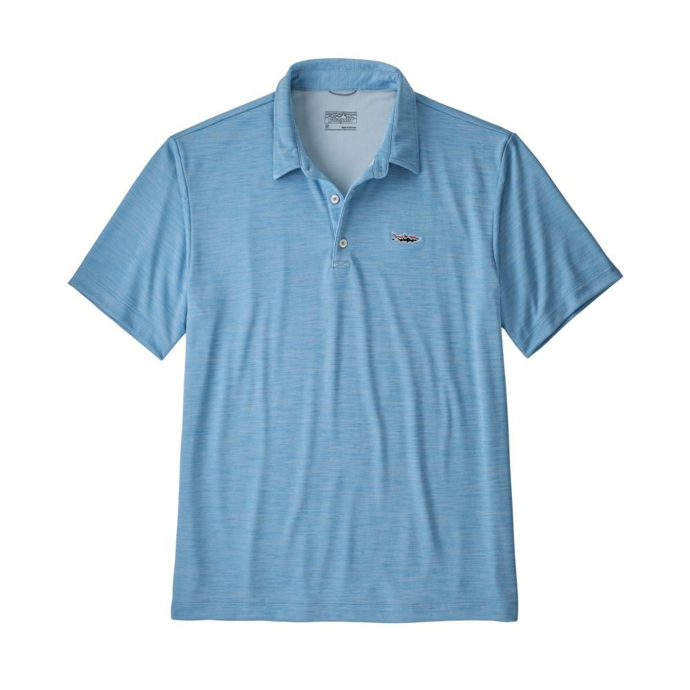 Patagonia Men's Sunshade Polo - Tarpon Fitz Roy BLUE_LAGB