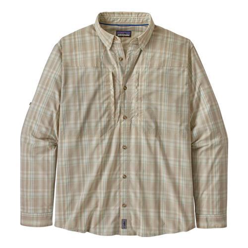 Patagonia Men's Long-Sleeved Sun Stretch Shirt Pumice_fwpu