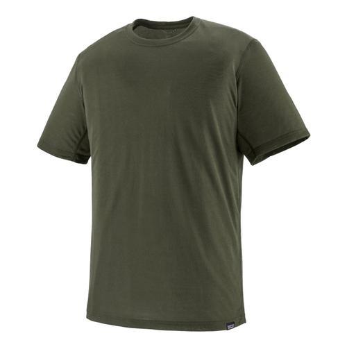 Patagonia Men's Capilene Cool Trail Shirt Green_indg