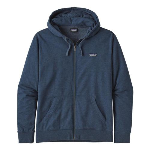 Patagonia Men's P-6 Label Lightweight Full-Zip Hoody Blue_snbl
