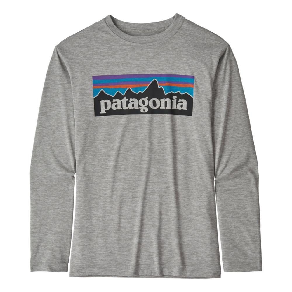 Patagonia Boys Long-Sleeved Capilene Cool Daily T-Shirt DFTGRY_PLDX