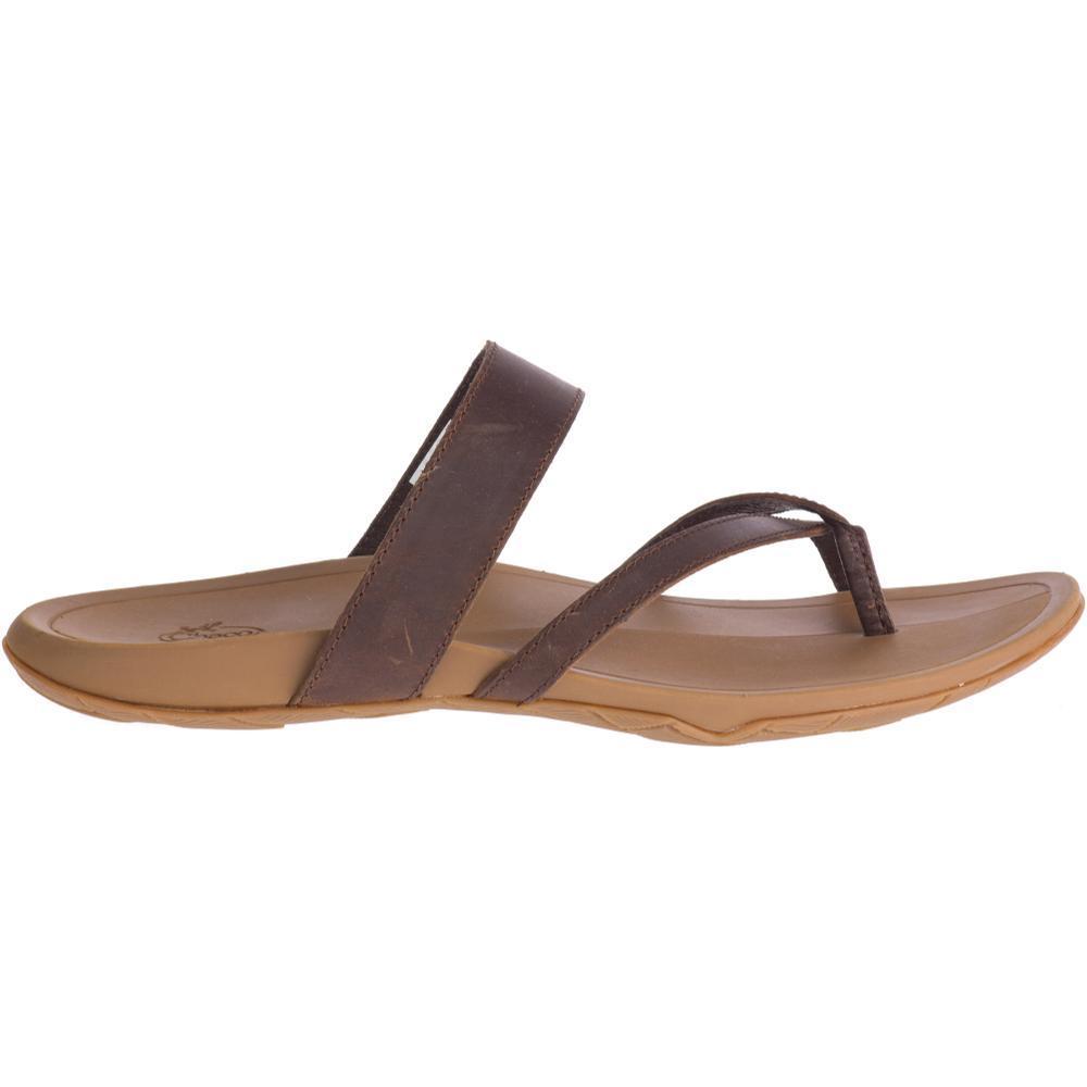 Chaco Women's Lost Coast Leather Sandals COGNAC