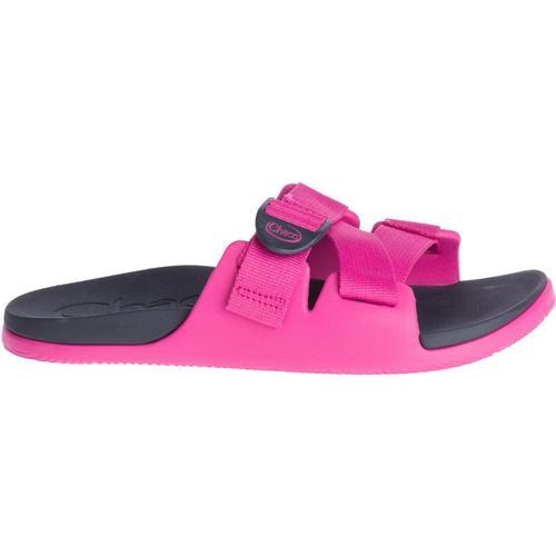 Chaco Women's Chillos Slide Sandals Magenta