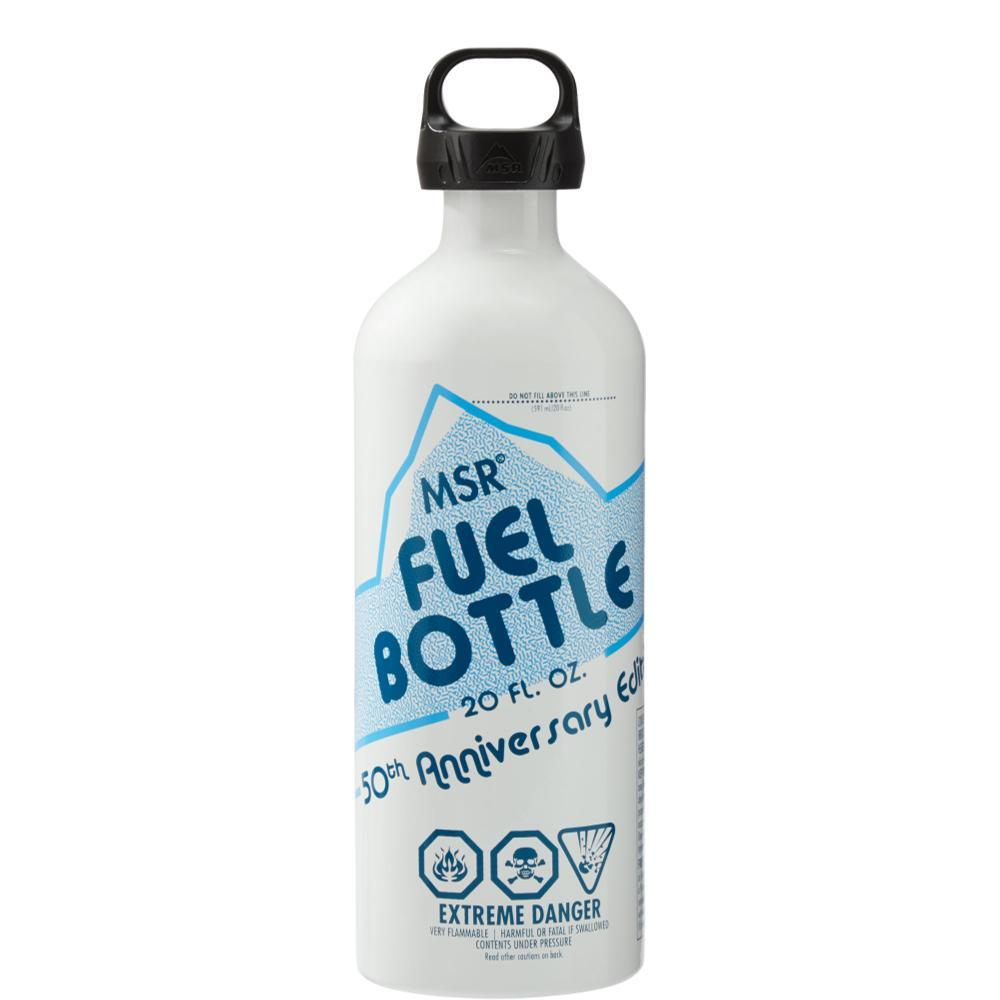 MSR 50th Anniversary Fuel Bottle WHITE