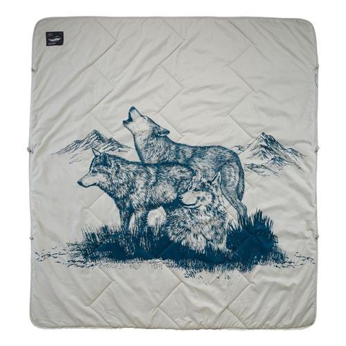 Therm-a-Rest Argo Blanket Wolf_print