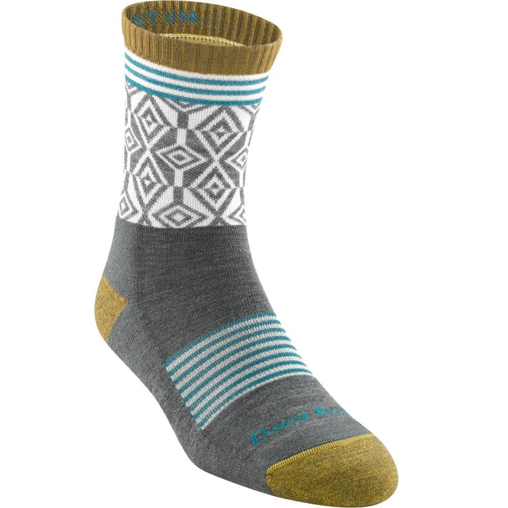 Darn Tough Women's SoBo Micro Crew Light Cushion Socks GRAY