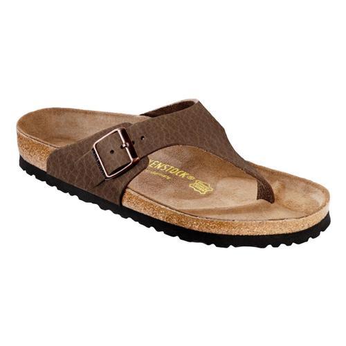 Birkenstock Men's Como Nubuck Leather Sandals - Regular Ctobac.Ol