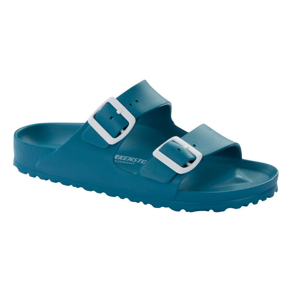 Birkenstock Women's Arizona Essentials EVA Sandals - Narrow TURQOISE
