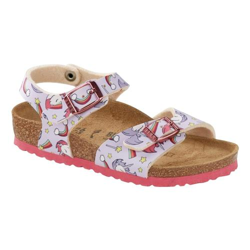 Birkenstock Kids Rio Birko-Flor Sandals - Narrow Unicorn