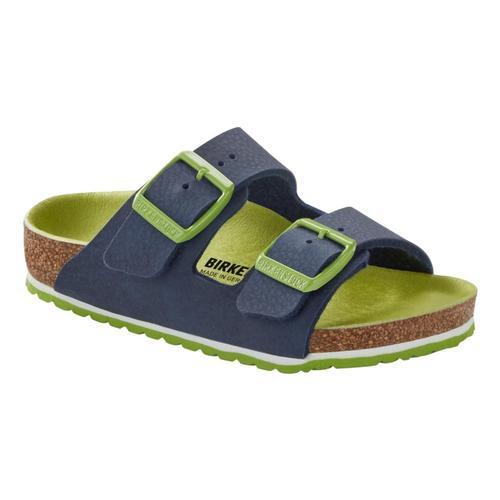 Birkenstock Kids Arizona Birko-Flor Sandals Blugreen