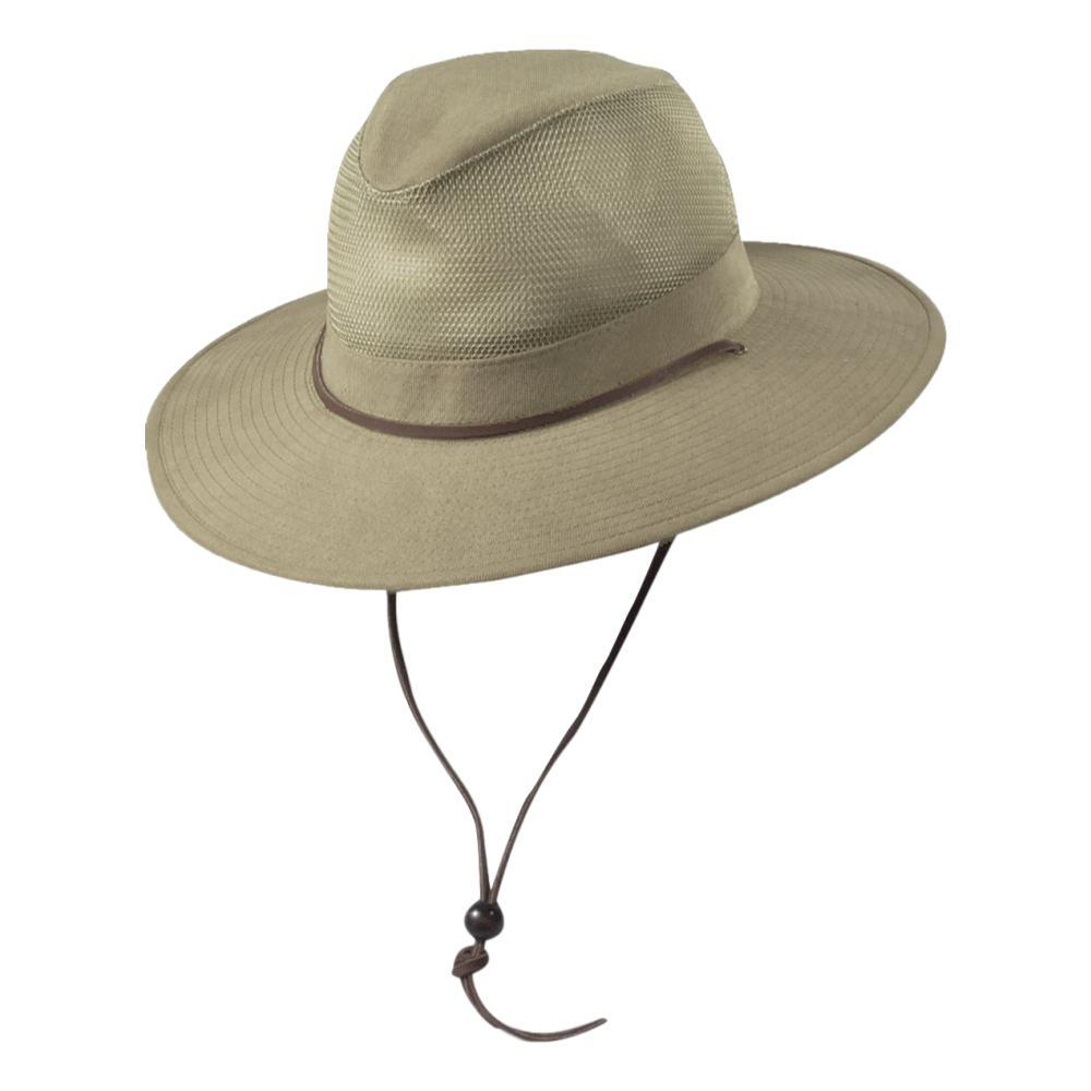 Dorfman Pacific Traveler Hat KHAKI