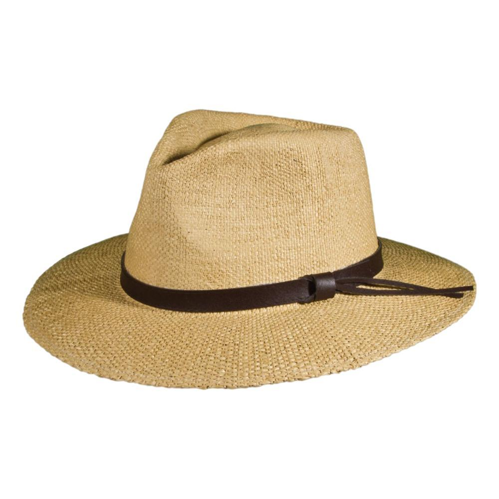 Scala Men's Manassas Straw Hat BROWN