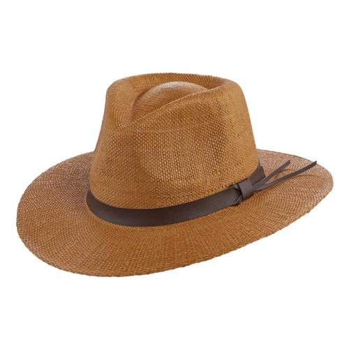 Scala Men's Manassas Straw Hat Tea