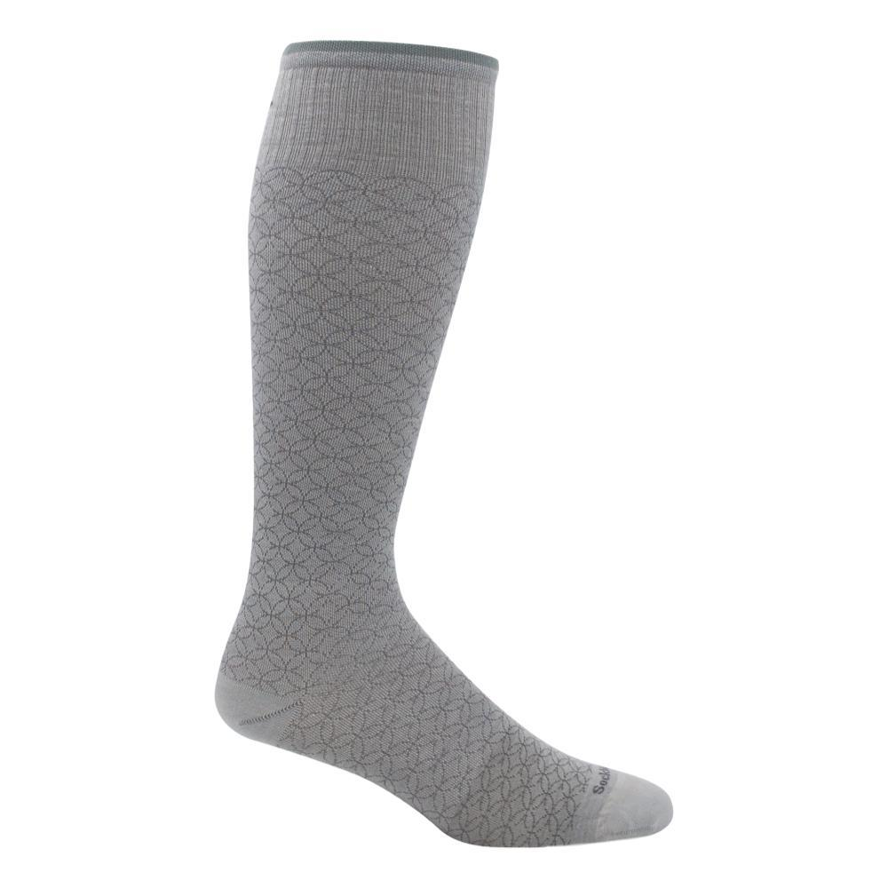 SockWell Women's Featherweight Fancy Graduated Compression Socks NATURL_015