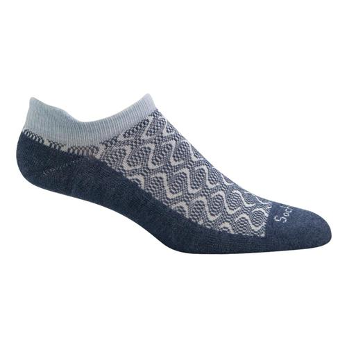 SockWell Women's Softie Micro Relaxed Fit Socks Denim_650