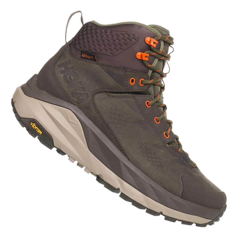 HOKA ONE ONE Men's Kaha GTX Hiking Boots BKOLV.GRN_BOGR