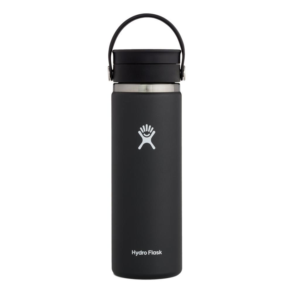 Hydro Flask 20oz Wide Mouth Water Bottle BLACK
