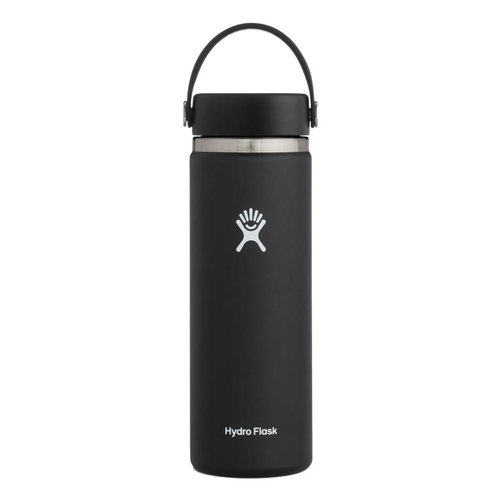 Hydro Flask 20oz Wide Mouth Bottle - Flex Cap BLACK